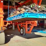 Straddle Carrier konttitrukki