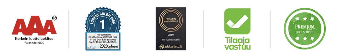 AAA-luottoluokitus. Suomen Vahvimmat, Tilaajavastuu